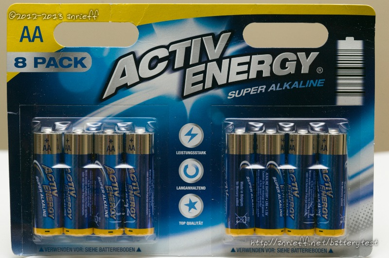 Battery Tests Activ Energy